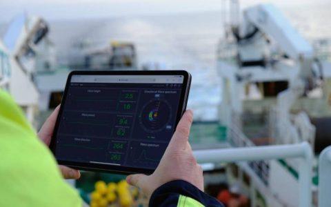 Miros App at Sea