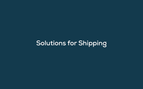 On-Demand Webinar.Solutions for Shipping