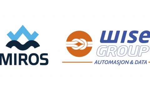 Wise Group and Miros logos